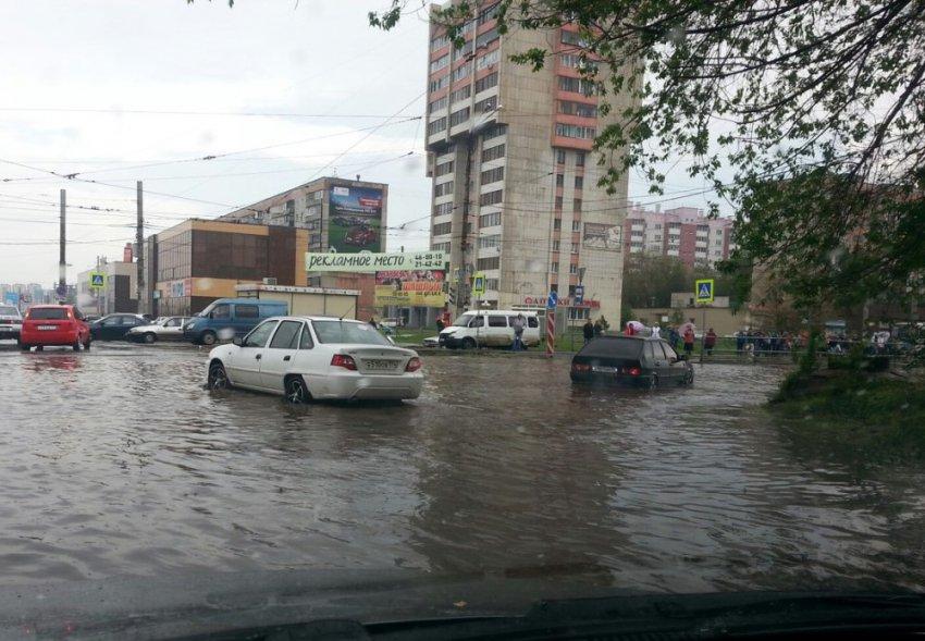 В Магнитогорске потоп