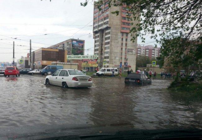 «Большая вода» маленького города