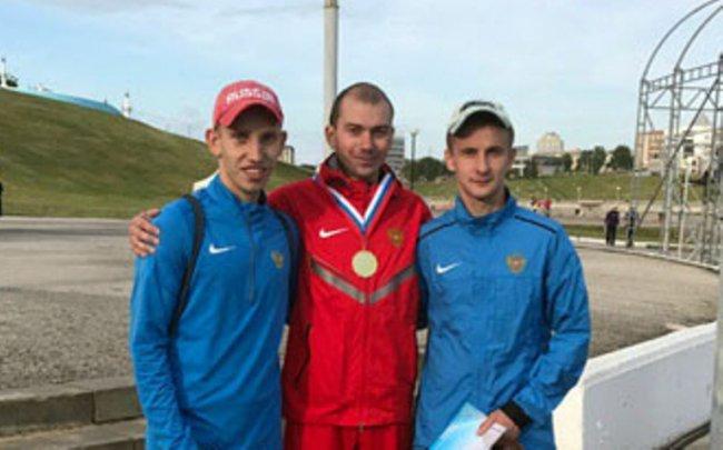Второе место на чемпионате России