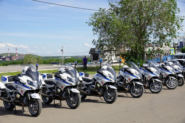 Полицейские догнали магнитогорских мотоциклистов
