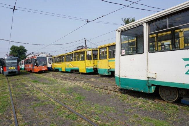 Трамваи стали ходить чаще
