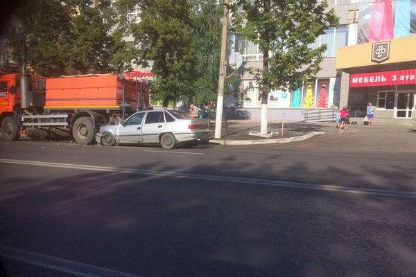 Пьяный въехал в «КАМАЗ»