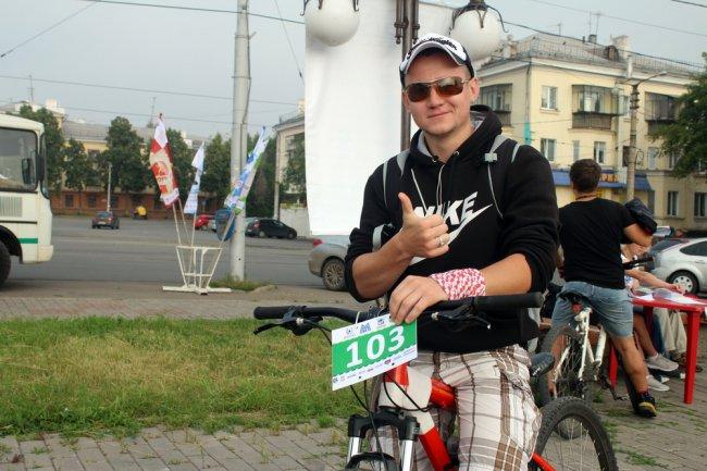 Велосипедисты запомнят этот день надолго