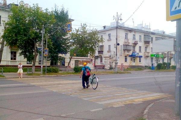 Велосипед – тоже транспорт