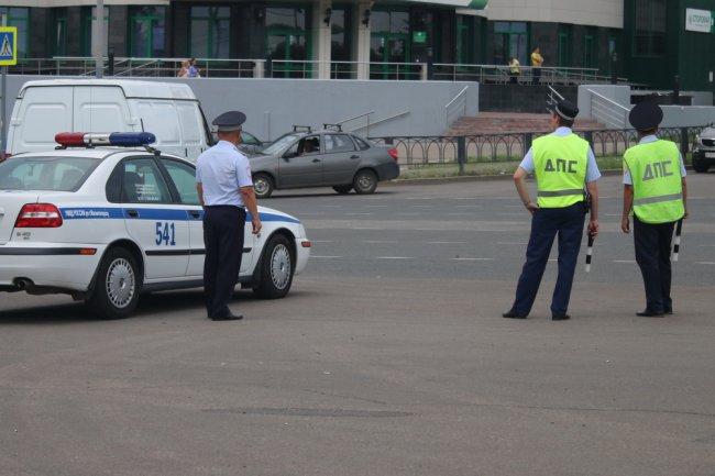 Дорожная полиция выходит в рейд в «час пик»