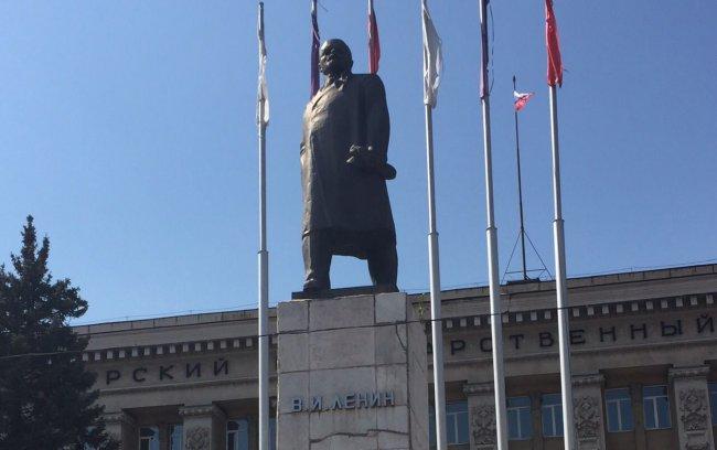 Ленин на реконструкции