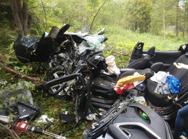 Жуткая авария произошла в 100 км от Магнитогорска