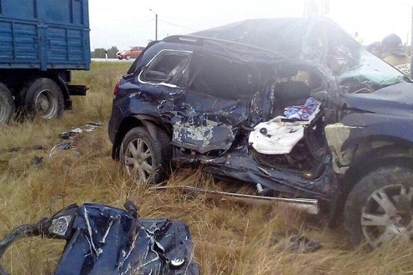 По дороге в Магнитогорск произошло смертельное ДТП