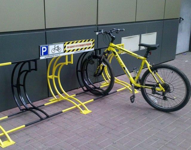 Город построит более ста велопарковок