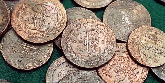 В музей привезли деньги Древней Руси