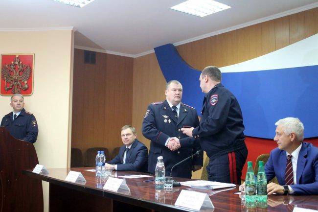 Сергея Меркулова представили личному составу