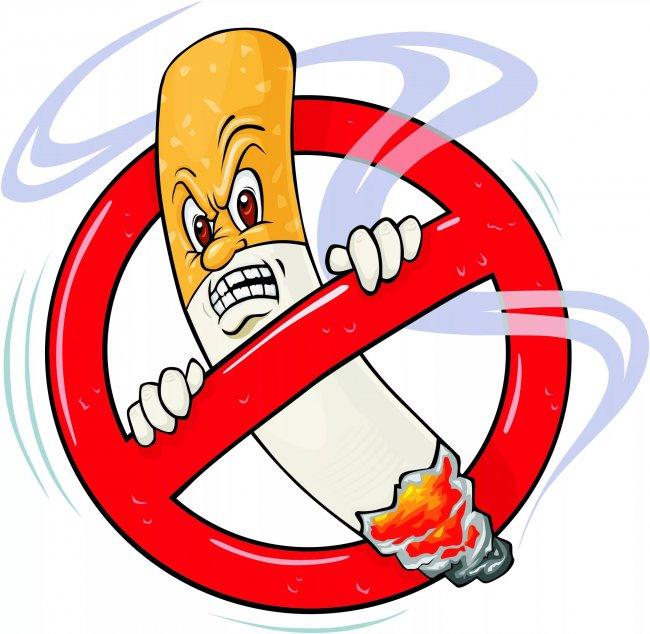 Курильщиков отгоняют от подъездов
