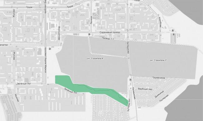 Администрация предлагает найти изюминку на юге города