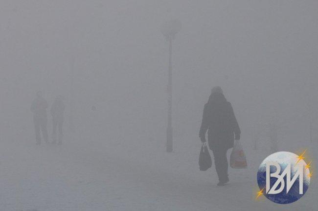 Туман весь день провисит над Магниткой