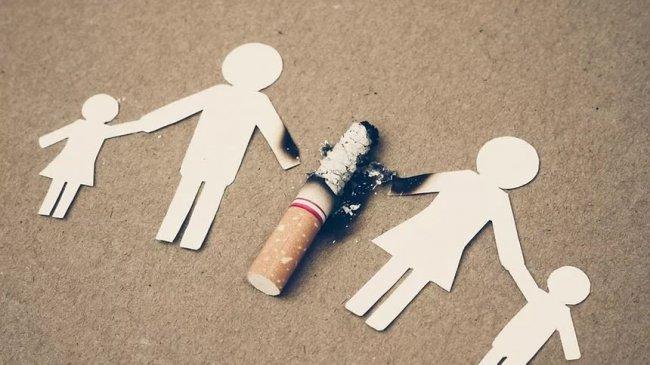 Откажись от сигареты – спаси семью