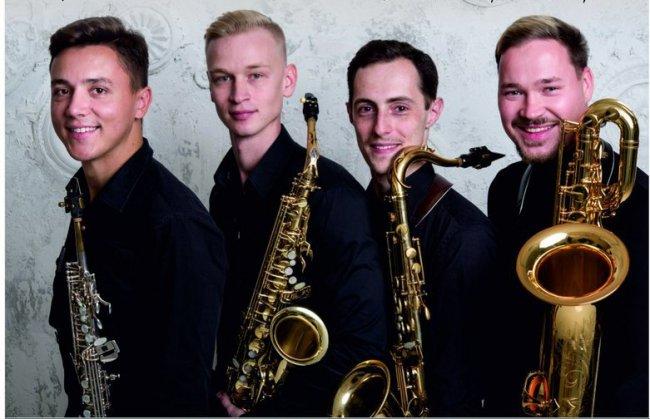 Четыре саксофониста приехали к нам из Москвы