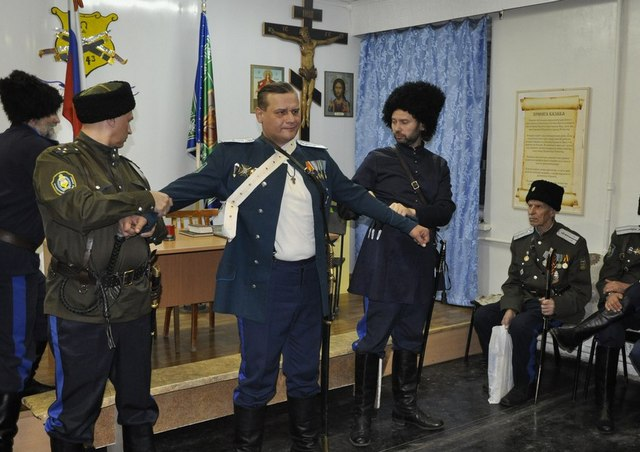 В Магнитогорске новый атаман