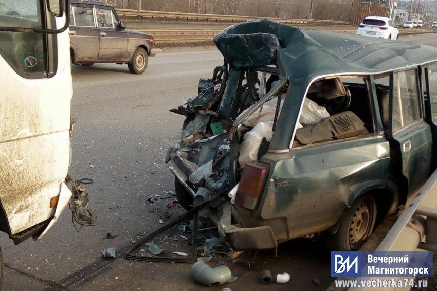 Водитель и пассажир пострадали