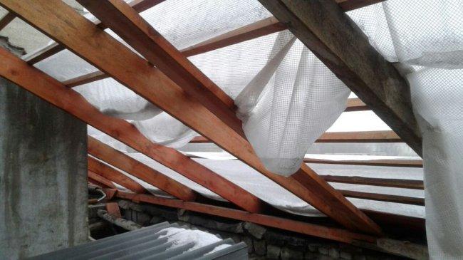 Крыша с «проветриванием»