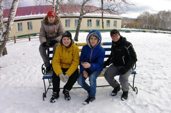 Дети из тундры отдохнули в Абзаково