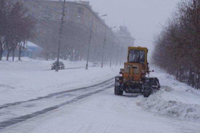 Борьба со снегом началась