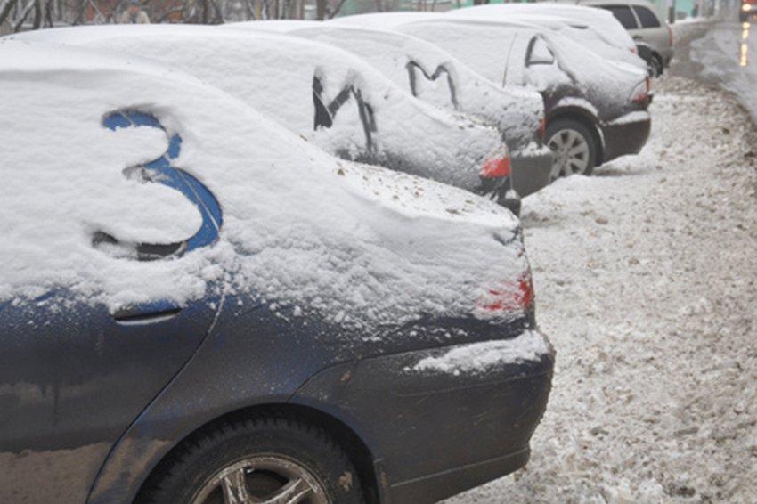 Снежок, ветерок и солнышко