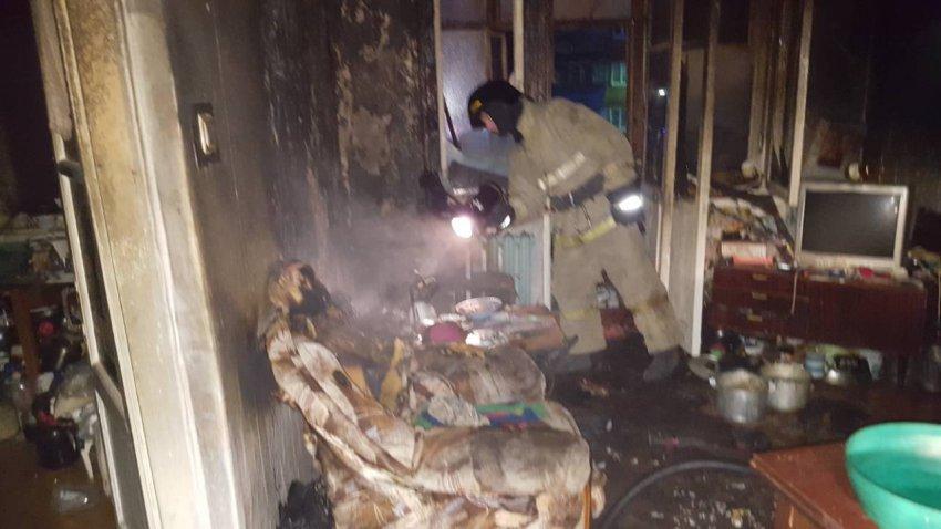 Пожар унёс две жизни