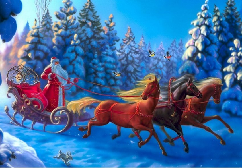 «Дом для мамы» в поисках Деда Мороза