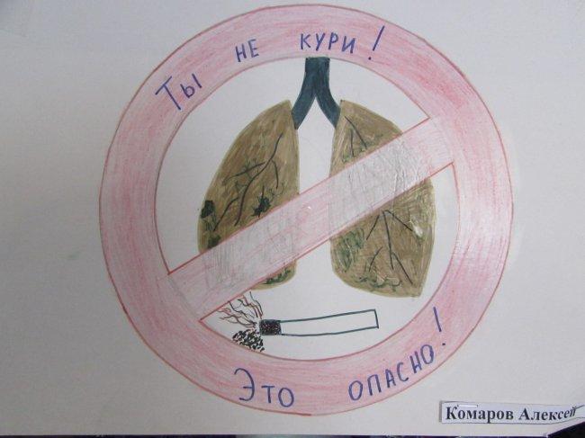 Курить при гриппе опасно!