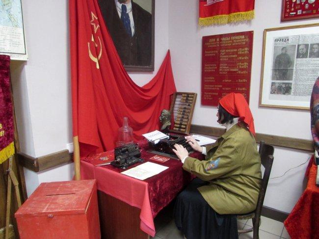 Глава города побывал в «советском уголке»