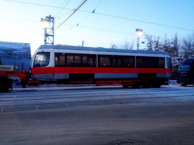Обещанные трамваи прибыли в Магнитогорск