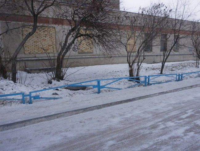 «Джунгли» присыпало снегом