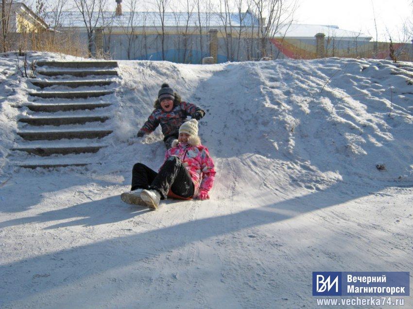 Юные саночники готовятся к Олимпиаде