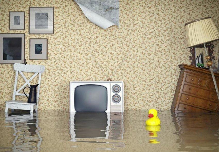 Что делать, если затопило квартиру?