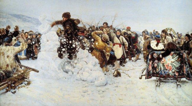 Русский карнавал, или праздник живота перед Великим постом