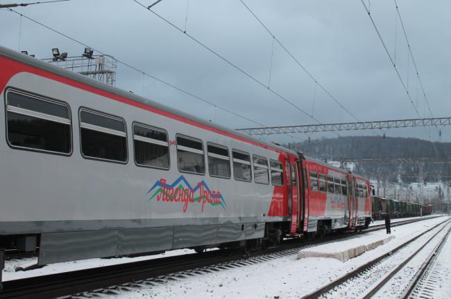 Поезд «Легенда Урала» доедет до Абзаково