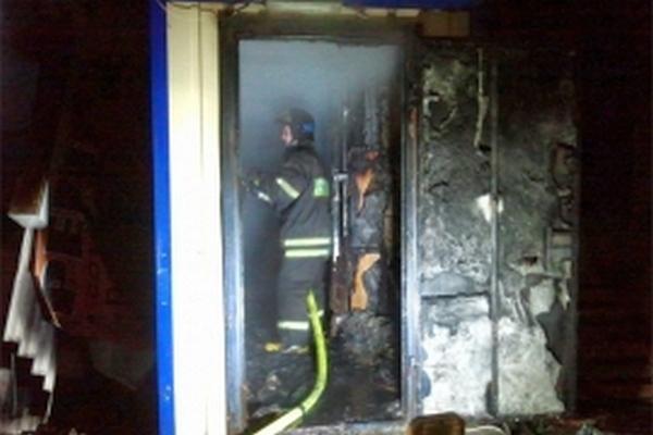На улице Уральской произошёл пожар