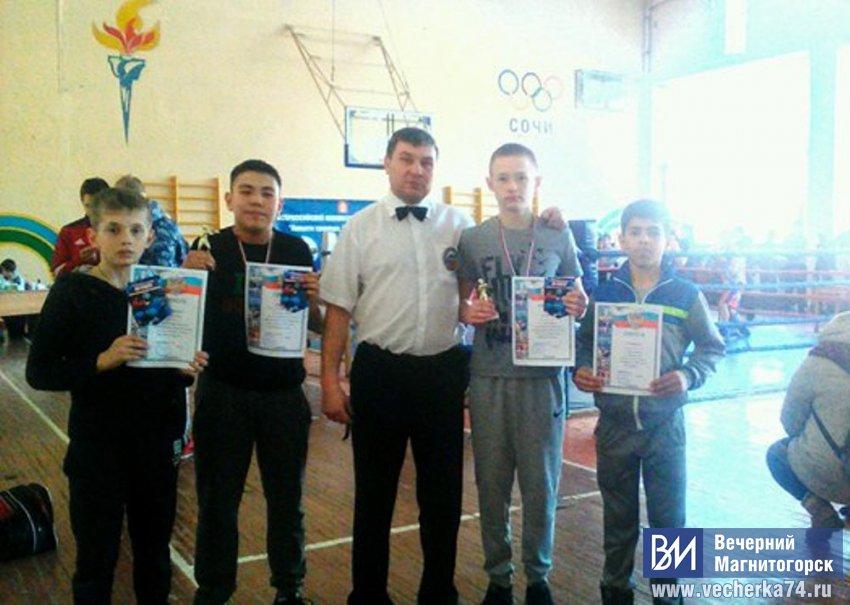 Новые победы юных боксёров