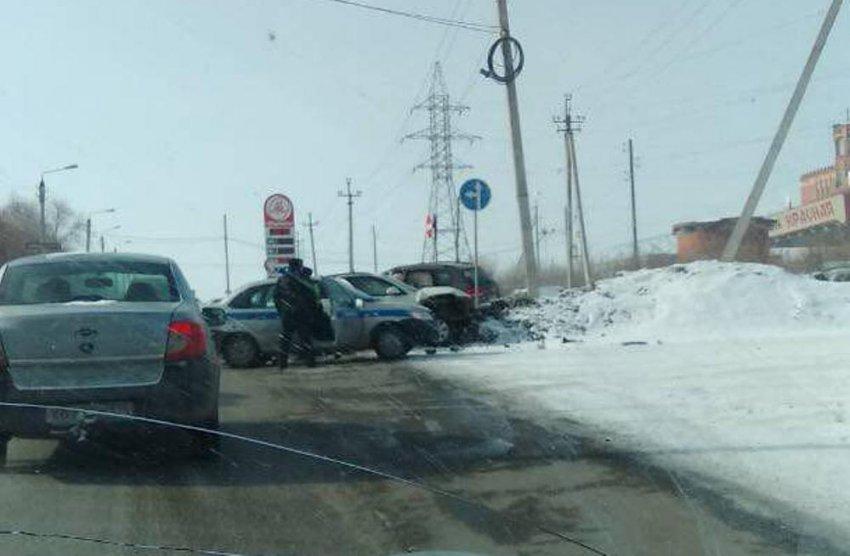 Пьяный водитель устроил массовое ДТП
