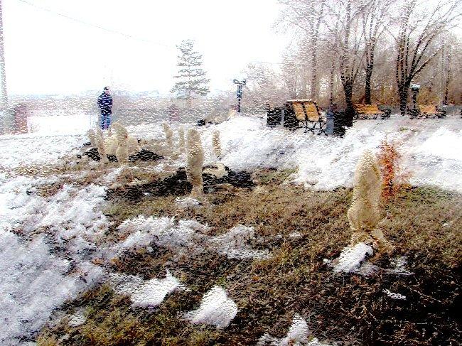 Аллея славы зиму пережила