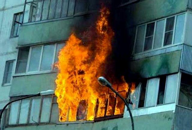Пожар произошёл по глупости