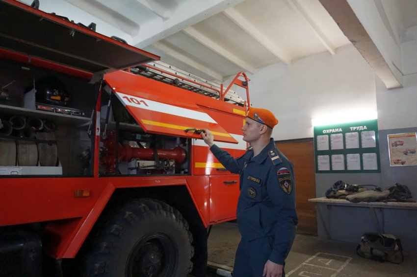 Лучший пожарный живёт в Магнитогорске!