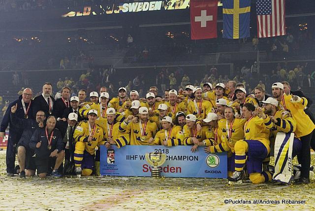 Финал чемпионата мира по хоккею разыгран