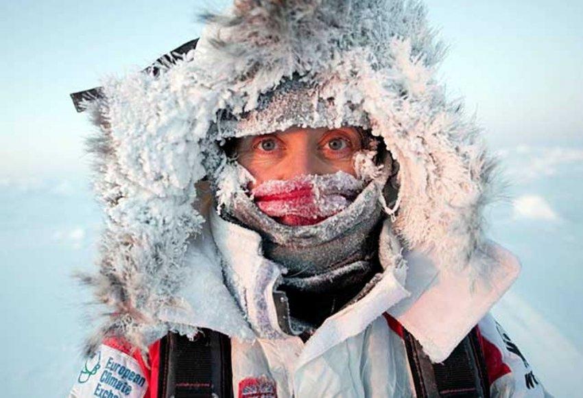 Привет полярникам!