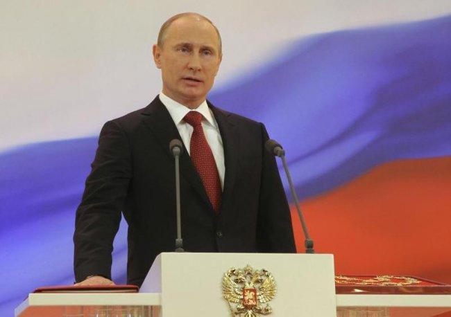 Сегодня Владимир Путин вступит в должность