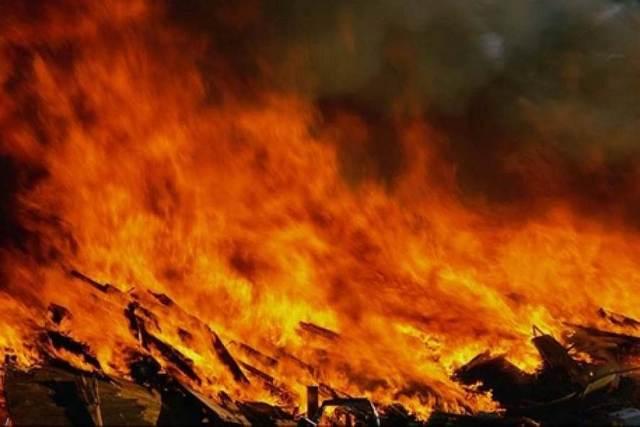 Сгорели заживо