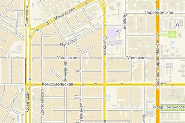 Улицу Советскую перекроют
