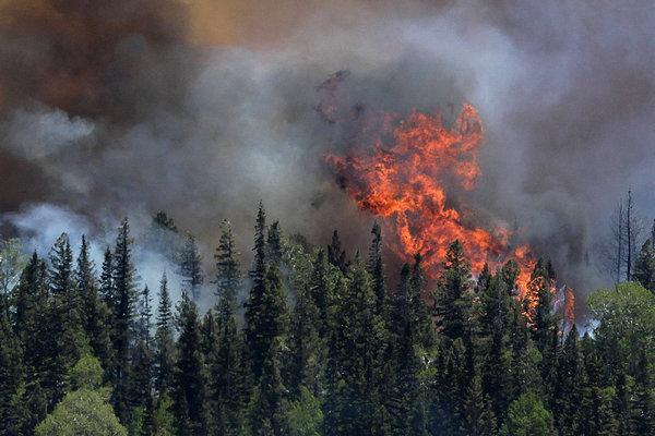 Возможны лесные пожары!