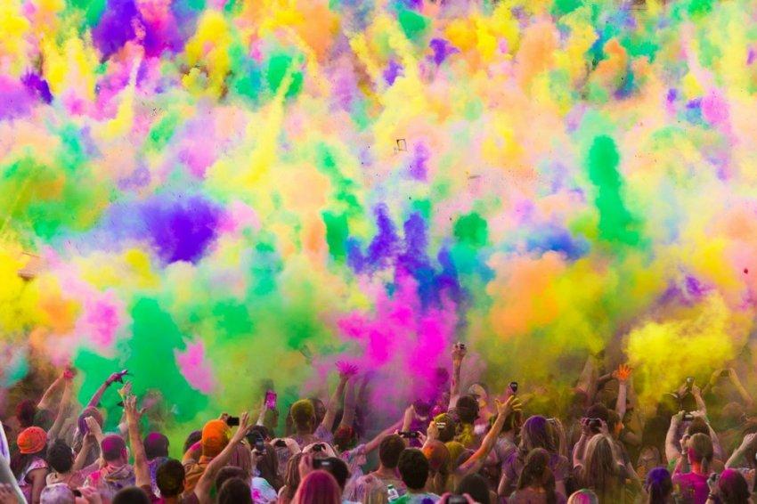 Фестиваль красок пройдёт на Центральном стадионе