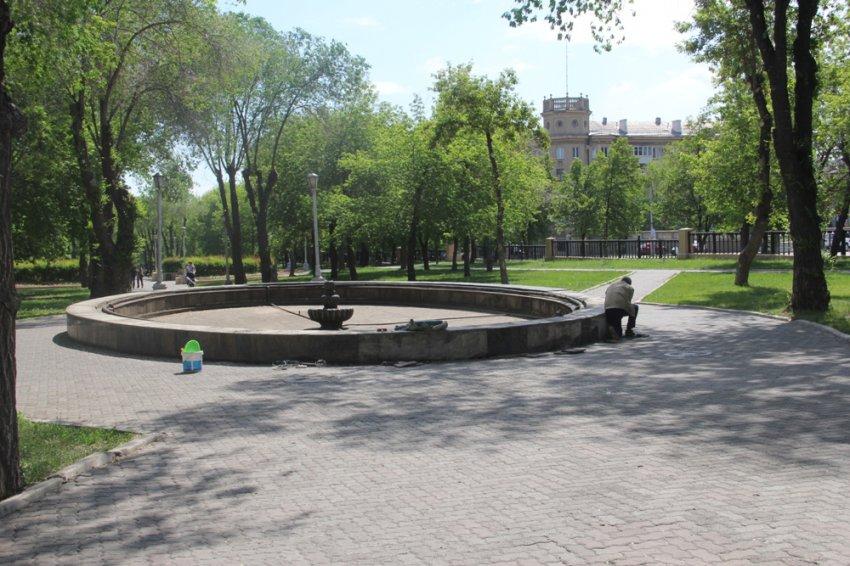 Поющий фонтан обновят